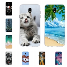 For Samsung Galaxy J7 2017 Case Silicone J730 J730F Cover Dog Pattern Pro Funda