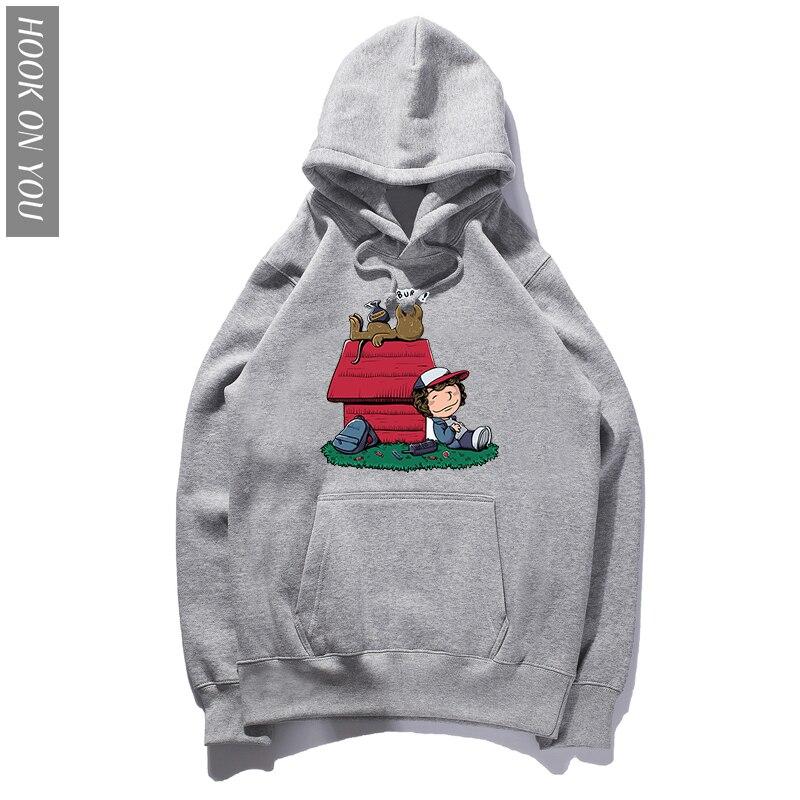 2018 New Fashion Stranger Things Hoodie Men Women Cotton Cool Hoody Brand Clothing Funny Tops Sweatshirts Plus size XS-XXXL