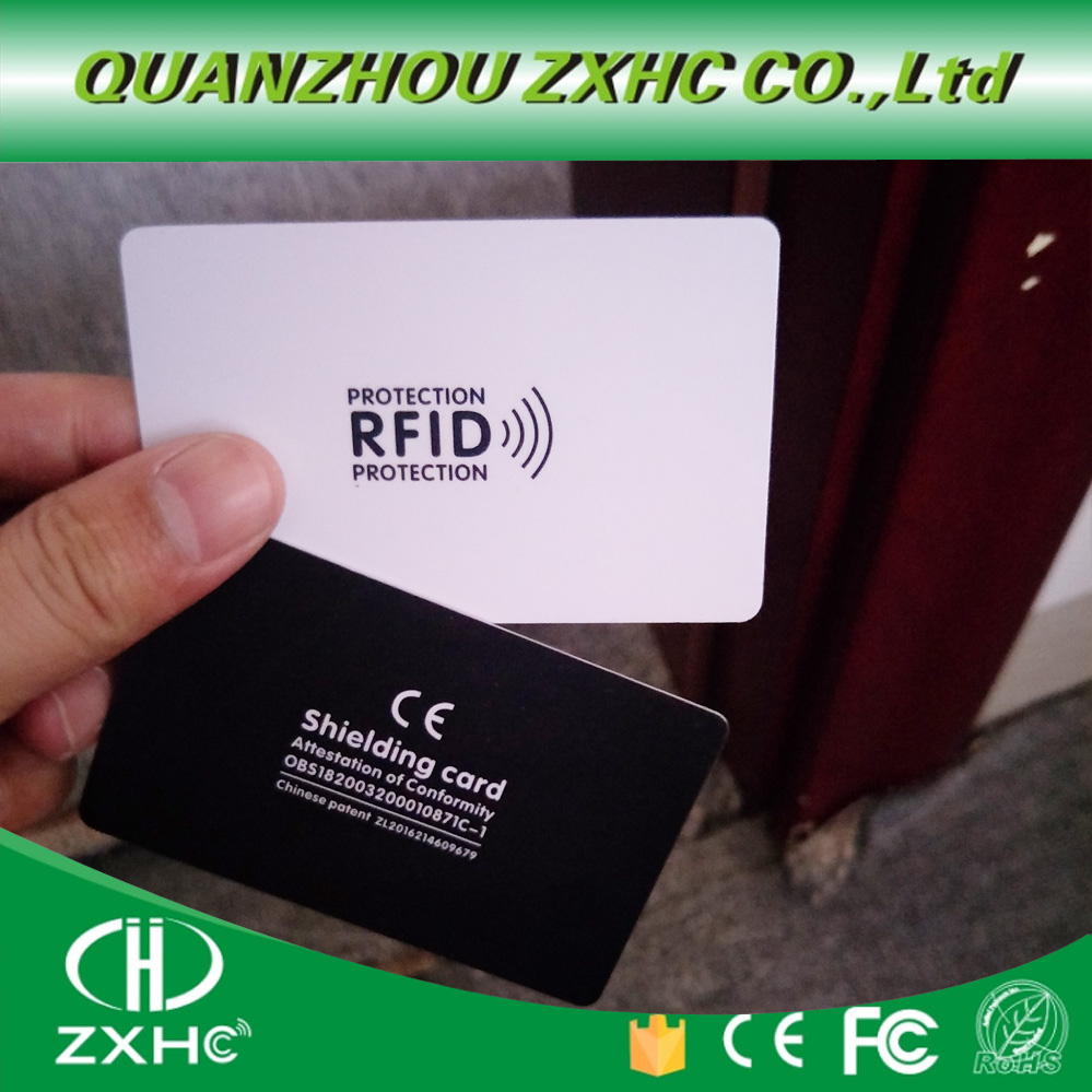 5pcs/lot RFID Anti-Theft Shielding NFC Information Anti-theft Shielding Gift Shielding Module Anti-theft  Blocking Card