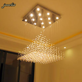 jmmxiuz Modern Crystal chandelier Lights Living room crystal chandeliers Decoration Tiffany Indoor Lighting Lamp Chandeliers chandelier lighting modern crystal lights export k9 crystal chandelier candle chandeliers crystal villa living room chandelier