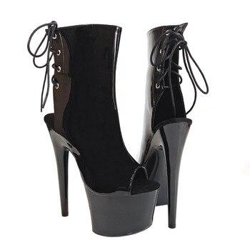 Zapatos Leecabe Pulgadas 15 Fiesta Alto De Para Sandalias Mujer Cm6 Plataforma Tacón fyYb76gv