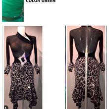Латинское платье для танцев новое платье для торжеств латинский танец, сальса, платье-костюм для латиноамериканских танцев лимонное Huang Shuijing латинское платье