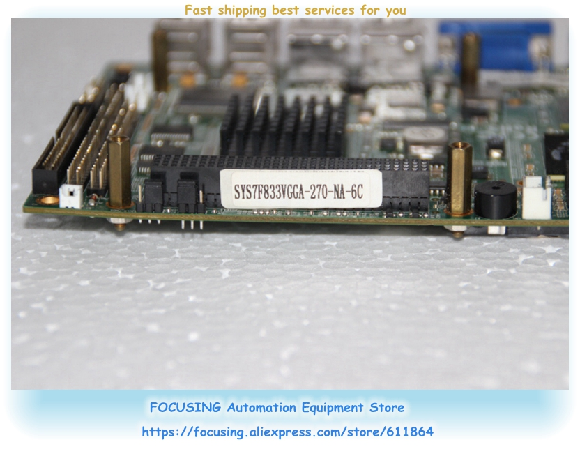 AX503 3.5 inch board SYS7F833VGGA-270-NA-6C industrial motherboardAX503 3.5 inch board SYS7F833VGGA-270-NA-6C industrial motherboard