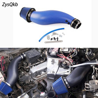 Universal Plastic Racing Air Filter Intake Pipe For Honda Civic 92 00 EK EG