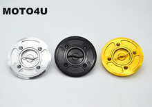 MOTO4U Motorcycle Fast Fuel Gas Cap Tank Cap Cover CNC Billet For DUCATI Scrambler 3 colors
