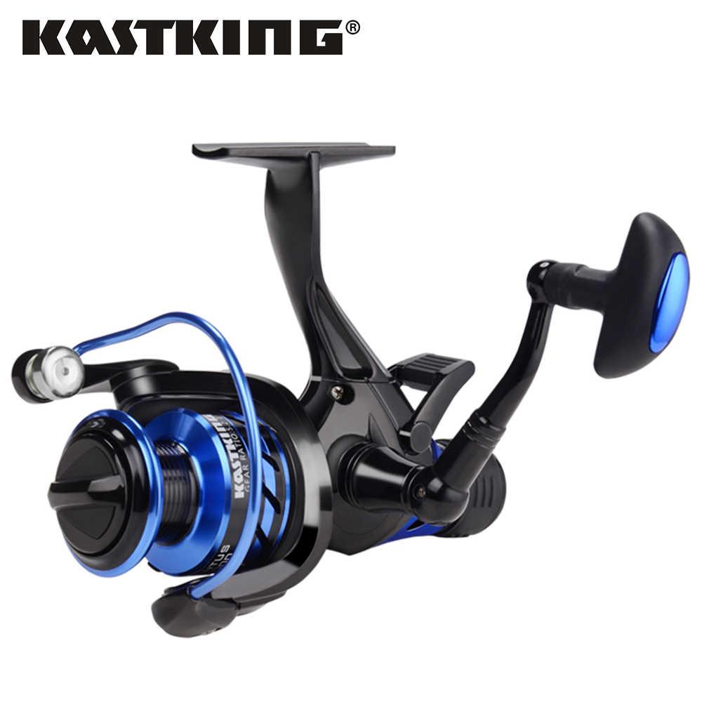 KastKing Pontus 7 كجم ماكس السحب المزدوج وقف نظام باس الصيد بكرة الجبهة والخلفية سحب المياه العذبة المياه المالحة الغزل بكرة
