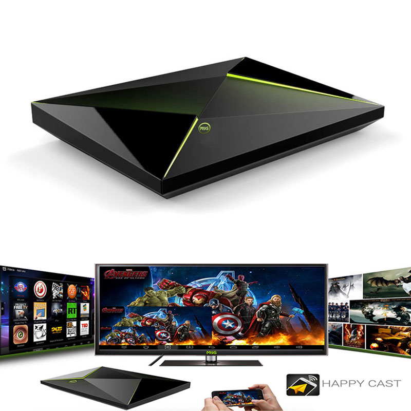 M9S Z8 2GB+16GB Android 5.1 S905 Quad Core TV Box WIFI Bluetooth Streaming Media Player XXM8