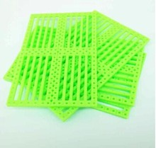 10PCS Function panel chassis DIY toy car shell plate perforated plastic sheet plastic sheet materials science experiments