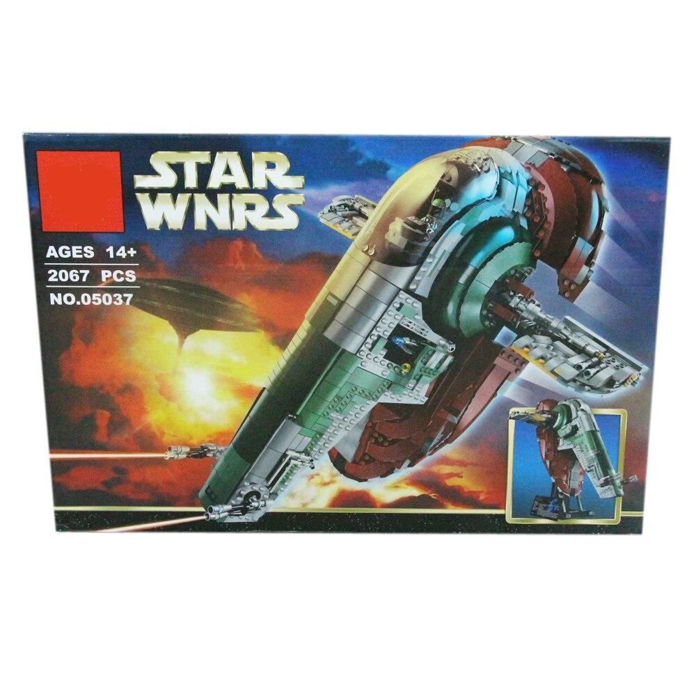 Star Plan Wars Ucs Slave Ship Of The Legendary Bounty Hunter Boba