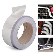DWCX серебряная алюминиевая армированная лента термостойкая высокотемпературная Защитная пленка для всасывания всасывающей трубы Комплект труб интеркулера
