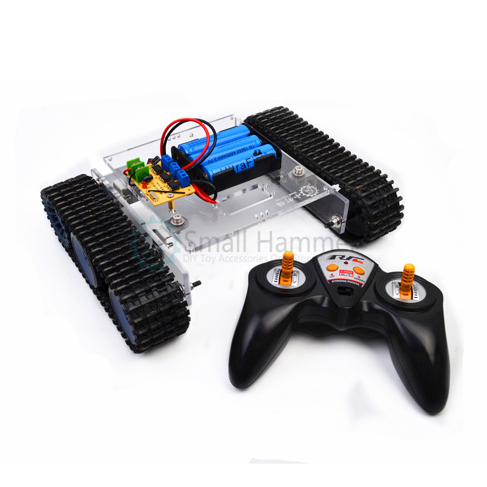 2.4G RC remote control tank assembly toy kit maker DIY electronic building blocks2.4G RC remote control tank assembly toy kit maker DIY electronic building blocks