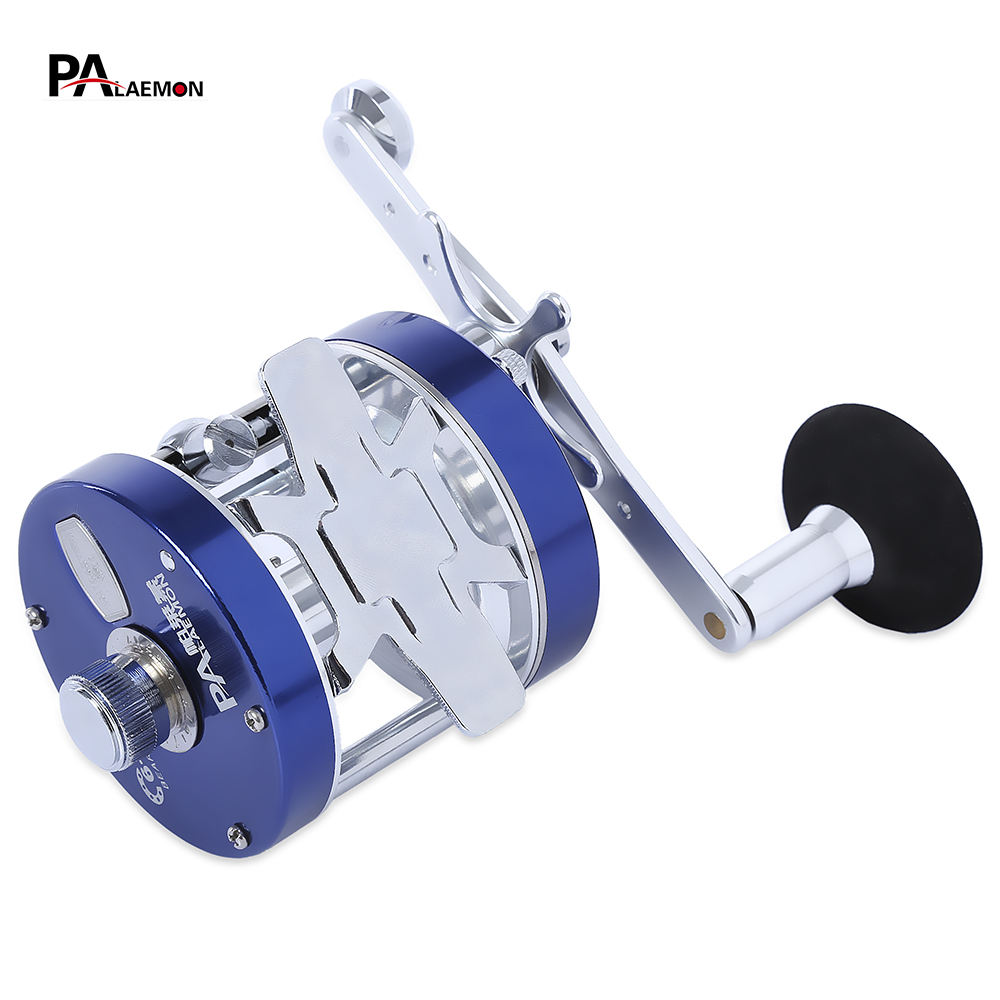 PALAEMON BF40 5.3:1 High Speed Metal Fishing Reels Right Left Handed Fishing Baitcasting Reel 6 + 1BB Drum Baitcasting Reel dmk baitcasting reel 13 1bb 7 0 1 left right hand high speed fishing reels bait casting vissen carretilha de pesca carp coil
