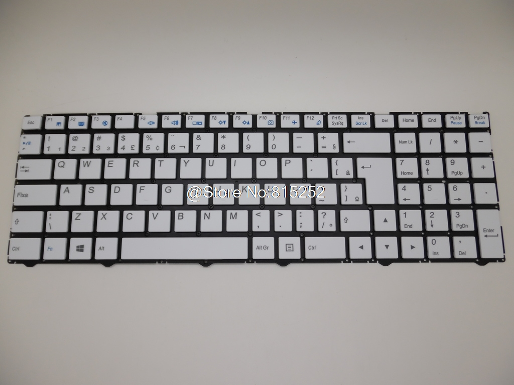 Laptop Keyboard For CLEVO N250 CVM15F38PA-4301 CVM15F30J0-4301 CVM15F30J0-430 CVM15F20J0J430 CVM15F26GBJ430 CVM15F36GB-430 New