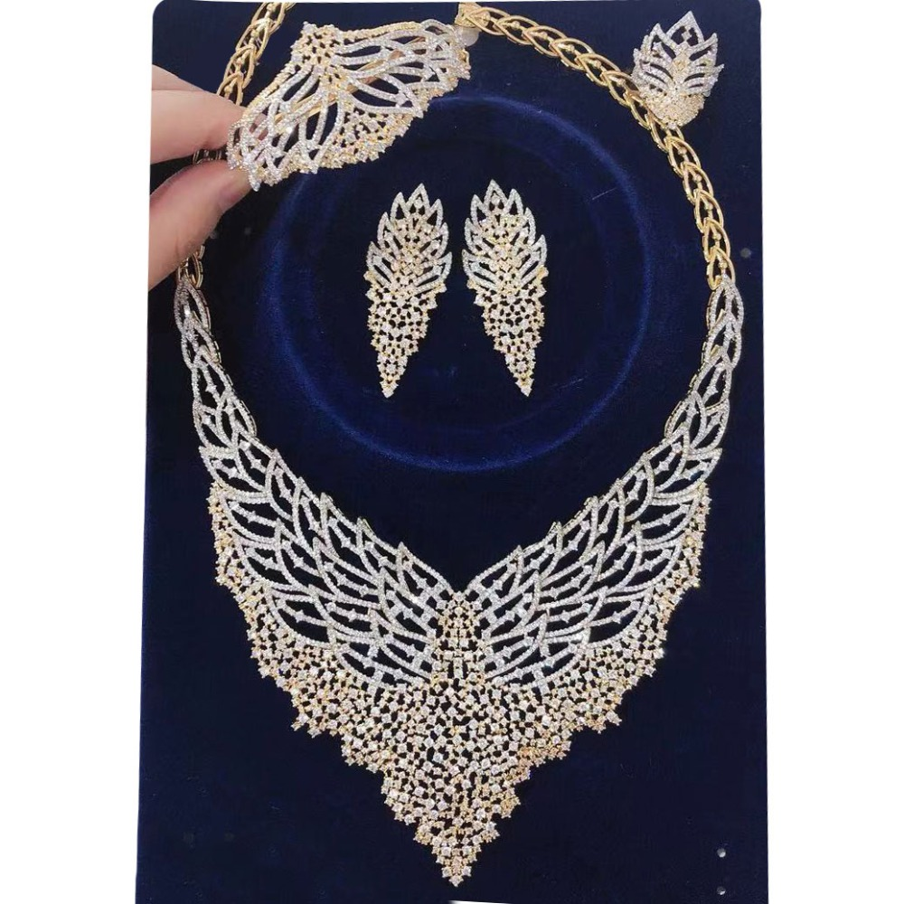 BIG Stock DEAL ONLY 1 SET! Luxury Peacock African Necklace Earring Set Jewelry Sets For Women Dubai Bridal jewelry SetsBIG Stock DEAL ONLY 1 SET! Luxury Peacock African Necklace Earring Set Jewelry Sets For Women Dubai Bridal jewelry Sets