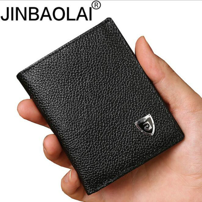 Small wallet men genuine leather purses cowhide mini wallets black and brown quality guaranteeSmall wallet men genuine leather purses cowhide mini wallets black and brown quality guarantee