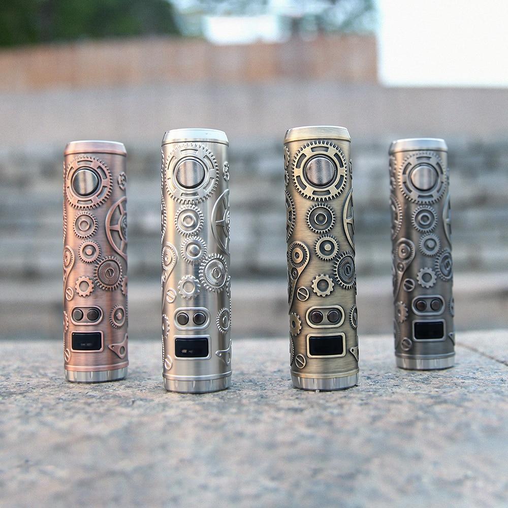 Cigarettes électroniques Tesla Punk 86 W Mod Teslacigs Max 86 W alimenté par 18650 batterie Punk Style Vape vaporisateur VS Punk 85 W Ecig