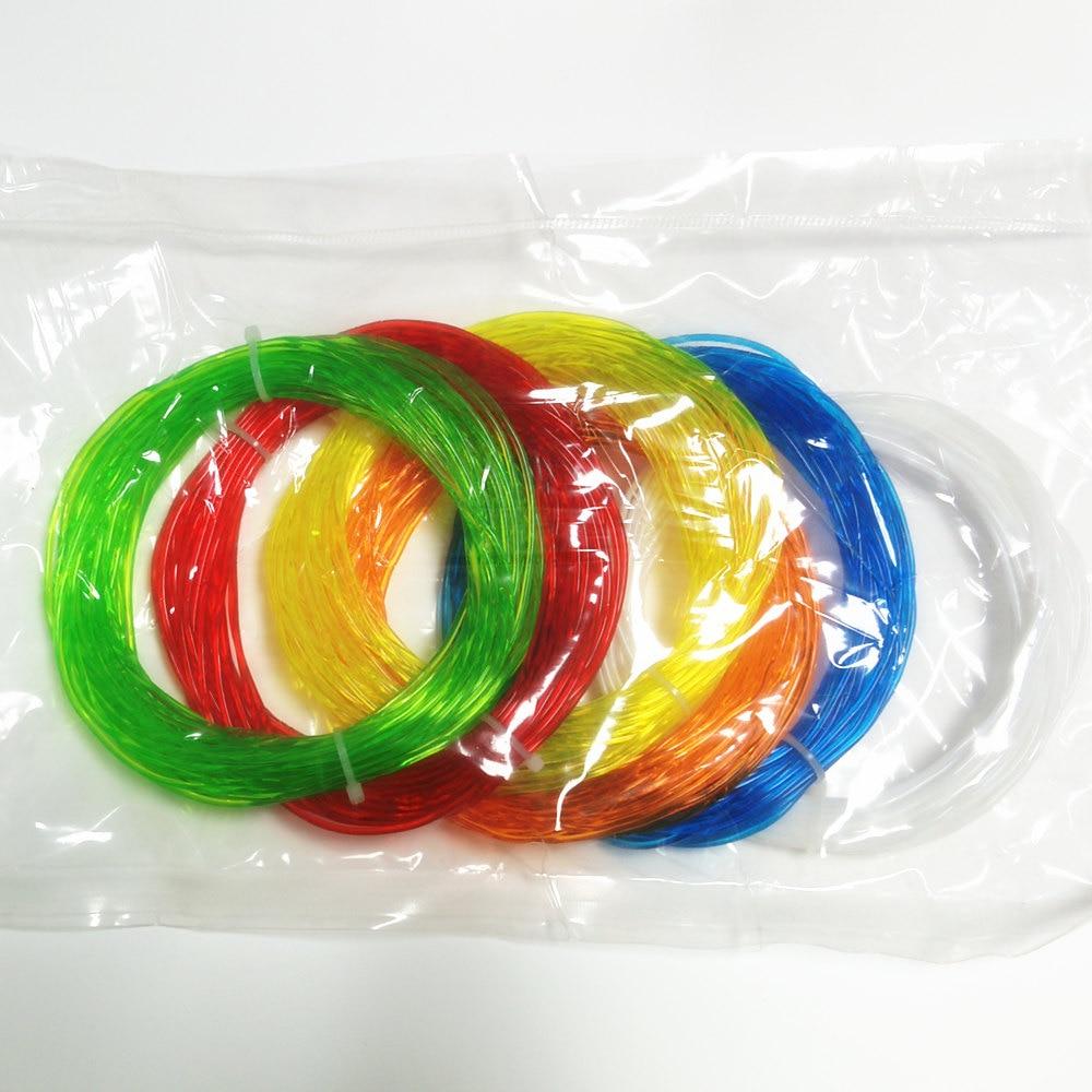 3D Printer and 3D pen TPU Flexible Soft rubber 3D Printing material Filament 1.75mm 10Meters*7Colors Total 70Meters