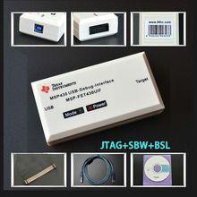 MSP430 émulateur MSP FET430UIF programmeur dinterface de débogage USB JTAG/BSL/SBW prend en charge la carte de développement F149