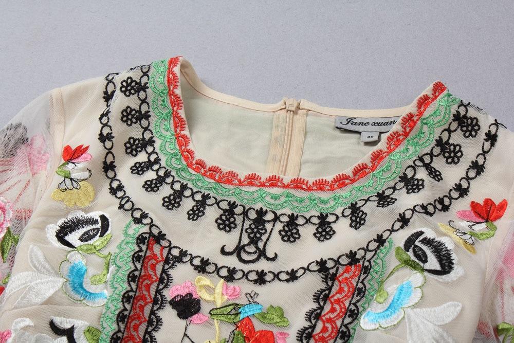 2015 Trend Lace Maxi Long Dress Summer Antumn Boutique Floral