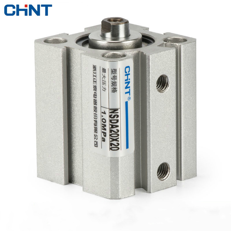 CHINT Thin Cylinder SDA Bore 20 Trip 20/25/30/35/40/45/50/55/60/65/70/75 винт hexagon socket screw 10 16 20 25 30 35 40 45 50 55 60 65 120
