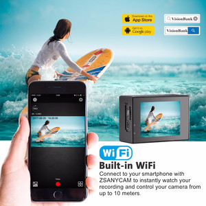 Image 2 - VeFly Sports & Action Video Cameras action camera 4k cam dvr wifi remote control hdmi sport camera action 4k ultra hd