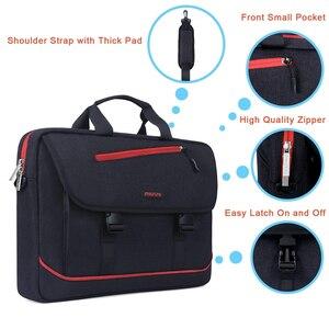 Image 4 - MOSISO Laptop omuzdan askili çanta 13.3 Inç su geçirmez defter macbook çantası Hava 13 Kılıf Yeni Pro 13 Bilgisayar Çanta Evrak Çantası Çanta