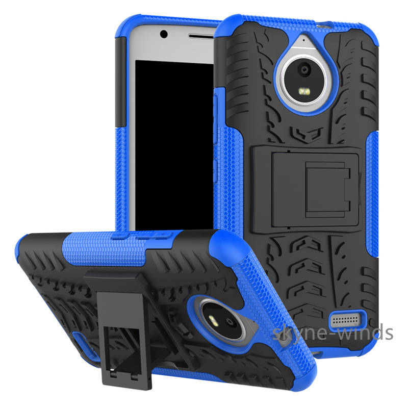 <font><b>case</b></font> For Motorola <font><b>Moto</b></font> <font><b>E4</b></font> <font><b>XT1761</b></font> Heavy Duty Protection Rugged Hybrid Silicone Stand Armor <font><b>Case</b></font> Cover For <font><b>Moto</b></font> <font><b>E4</b></font> Plus phone <font><b>case</b></font> image
