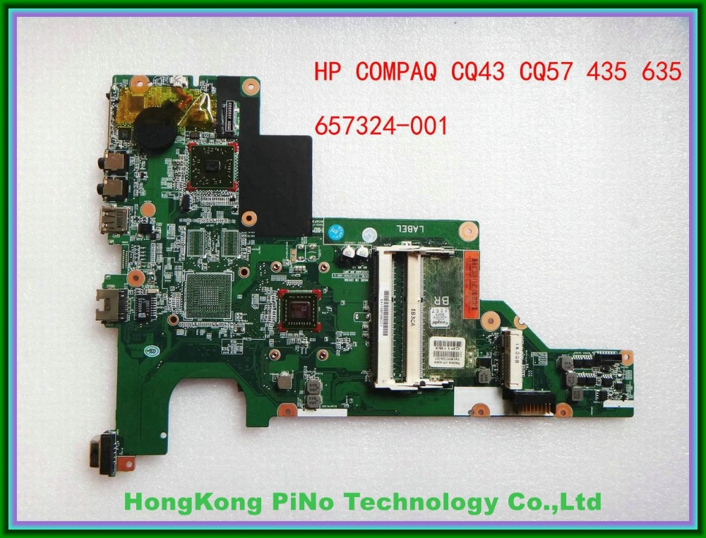 ФОТО Offer 657324-001 For hp CQ43 CQ57 435 635 motherboard 01015PM00-600-G 100% Tested