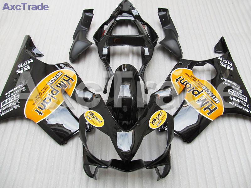 Moto Motorcycle Fairing Kit For Honda CBR600RR CBR600 CBR 600 F4i 2001-2003 01 02 03 ABS Plastic Fairings fairing-kit Black gray moto fairing kit for honda cbr600rr cbr600 cbr 600 f4i 2001 2003 01 02 03 fairings custom made motorcycle injection molding