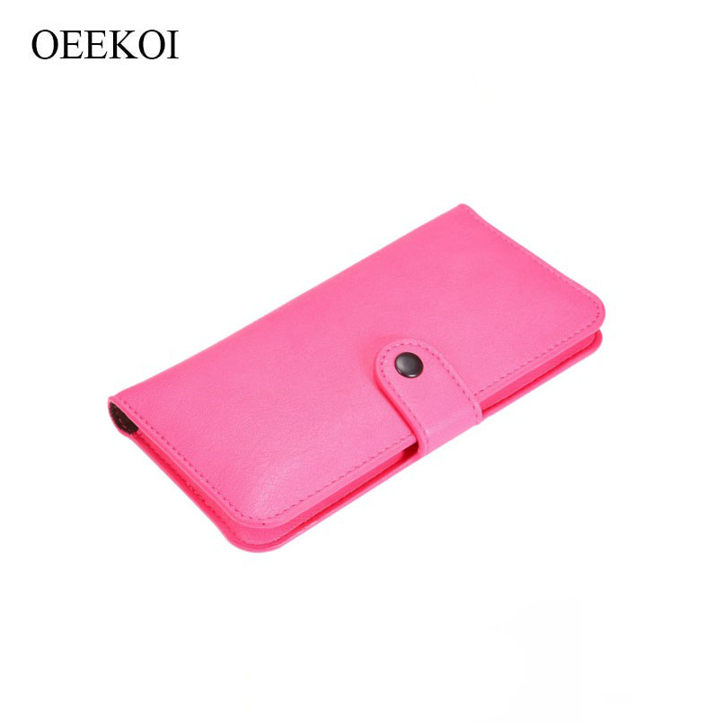 OEEKOI Elephant Pattern Wallet Leather Pouch Case and Card Holder Cover Case for NavRoad Nexo Handy/Nexo Smarty