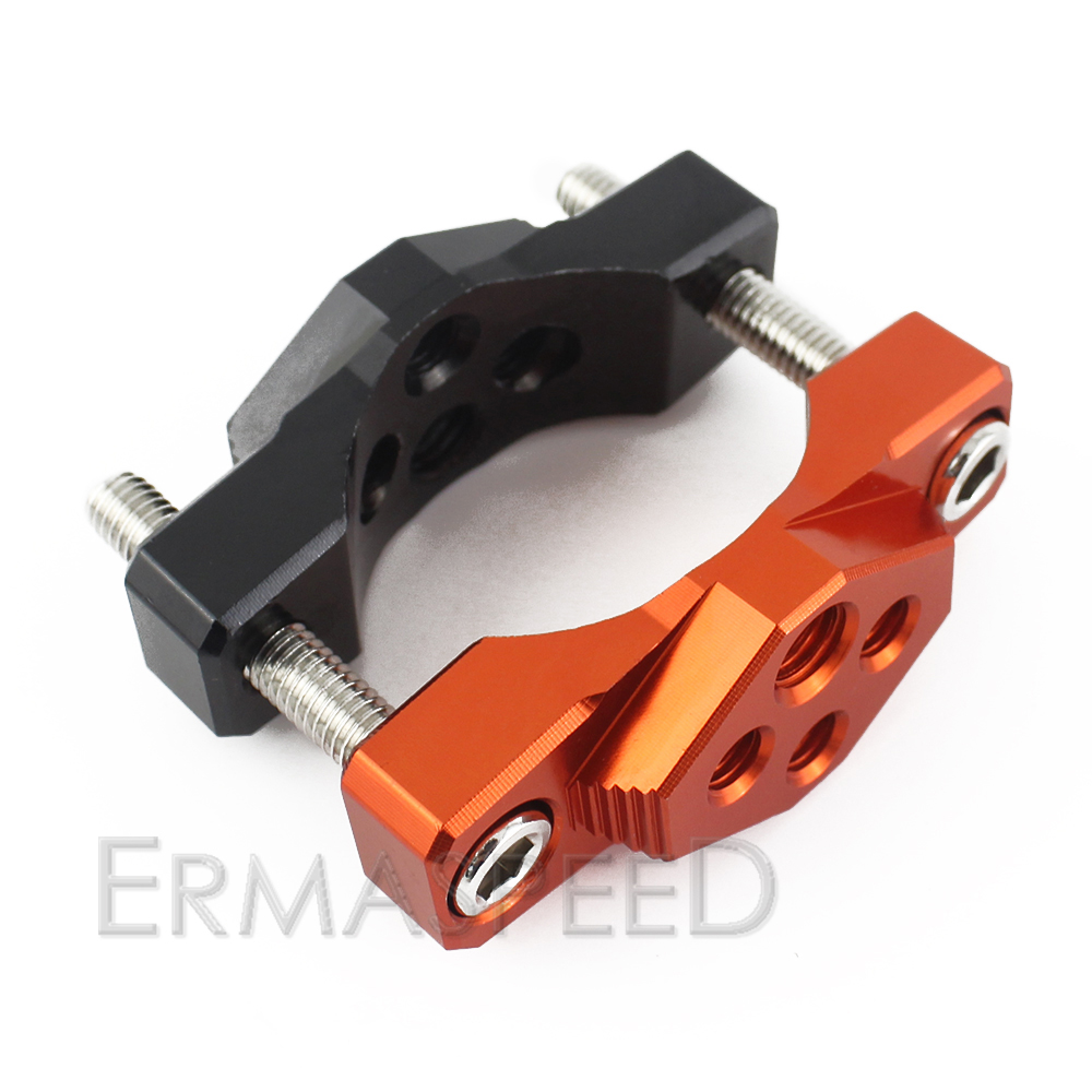 For Honda MSX125 Motorcycle Handlebar Riser Accessories Fat Bar Mount Clamp Adaptor 32mm 42mm 54mm Universal Spot Lights Bracket in Handlebar from Automobiles Motorcycles