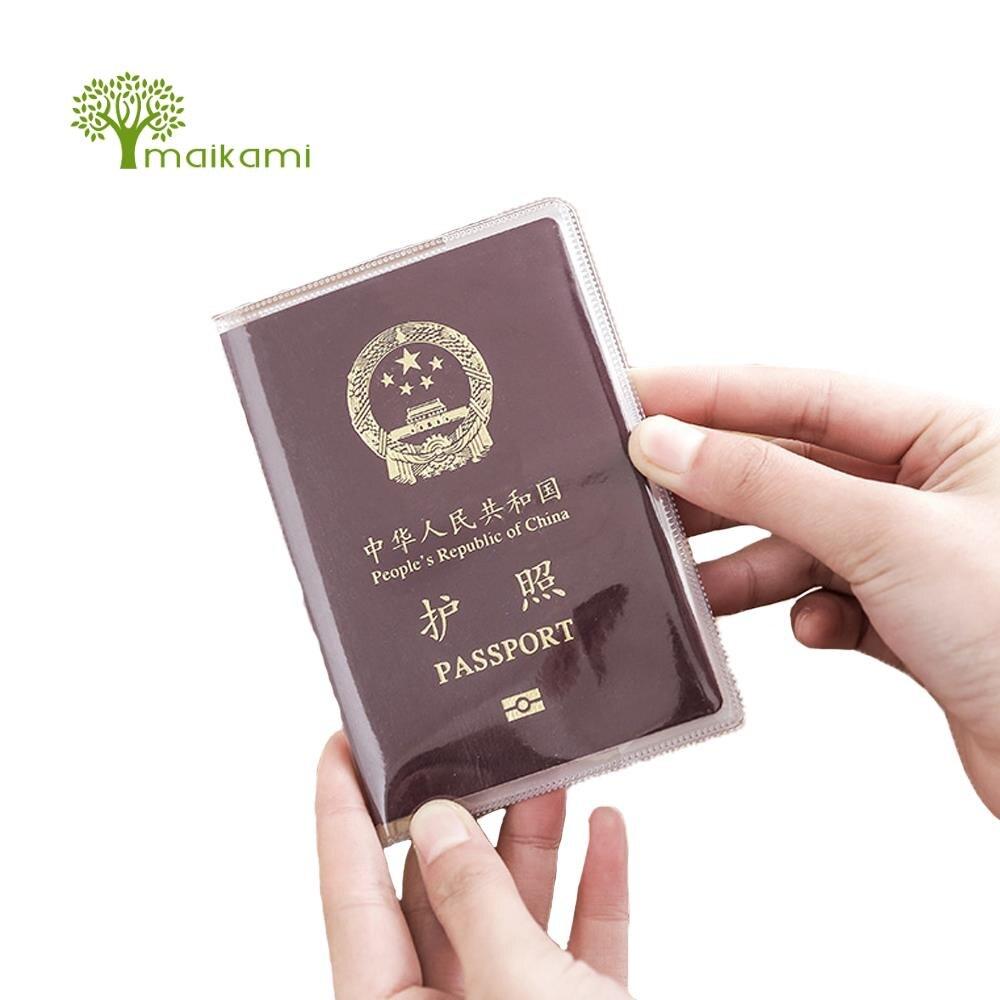 1pcs Passport Cover on the Adventure Women Travel Document Card Holder Credit Purses Fem ...