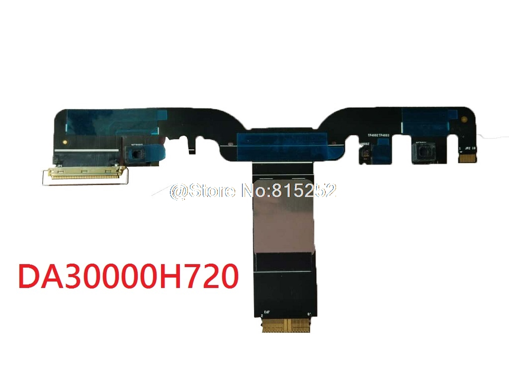 Laptop LCD Cable For Lenovo DA30000H720 LCD CABLE FLEX New Original original a1706 a1708 lcd back cover for macbook pro13 2016 a1706 a1708 laptop replacement