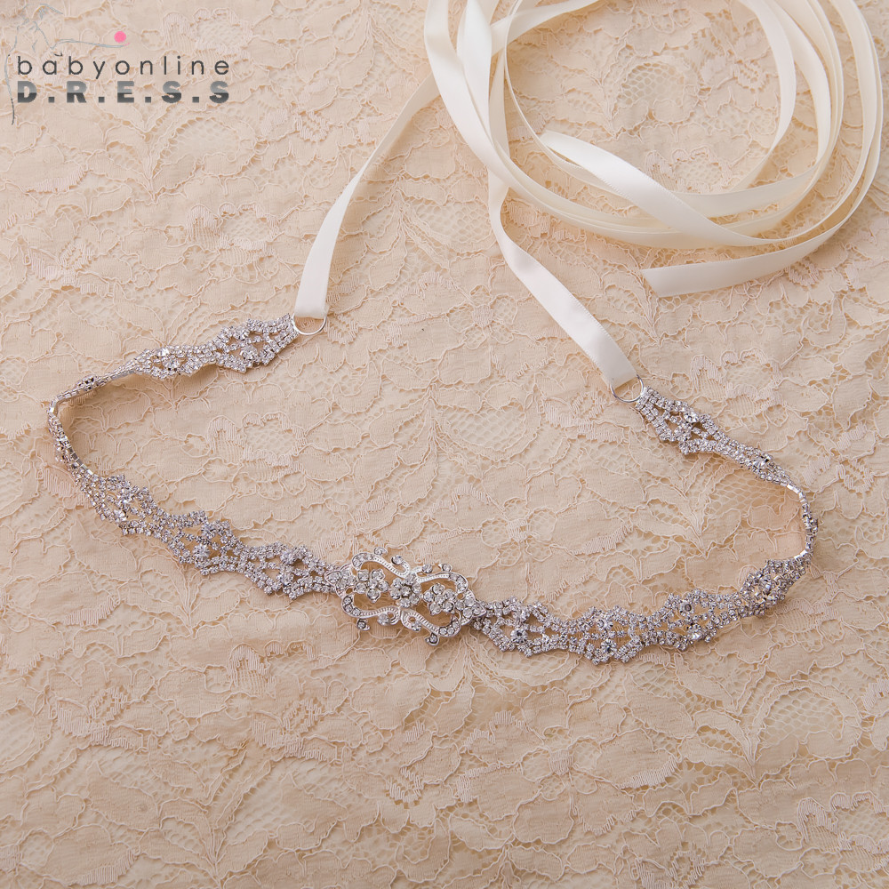 Cinturon Novia 275 CM Rhinestone Bridal Belt 6 Colors Crystal Diamond Wedding Belt Cheap Wedding Accessories Ceinture Mariage