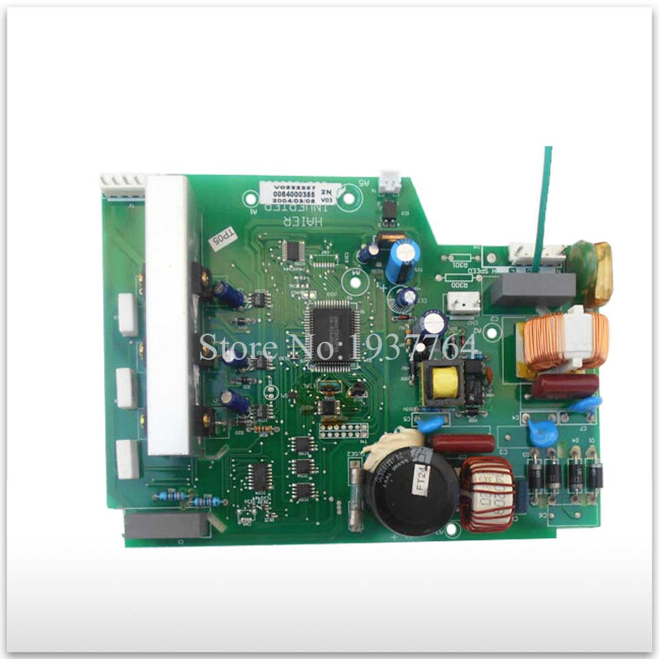 95% new for Haier refrigerator computer board circuit board BCD-188BSV 0064000385 0064000562 good working used board good working used board for refrigerator computer board power module da41 00482j board