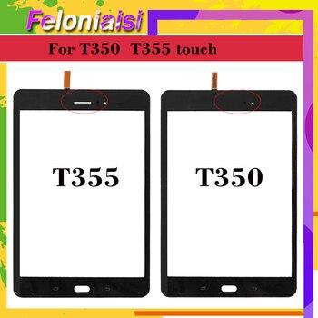 10pcs/lot 8.0'' For Samsung Galaxy Tab A T355 T350 SM-T355 SM-T350 Touch Screen Digitizer Sensor Glass Panel Tablet Replacement
