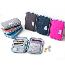 パスポートホルダー旅行財布、プレミアムナイロンケースカバーのためのしっかりとパスポート、クレジットカード Yifangzhe