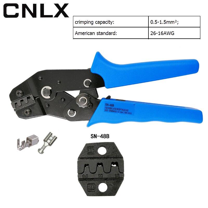 CNLX SN-48B draht quetschverbindenzange für unisuated buchsen und ...