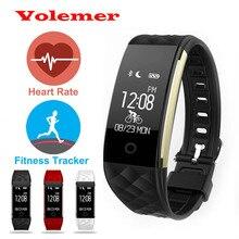 Новые bluetooth умный браслет браслет фитнес heart rate monitor ip67 водонепроницаемый шагомер браслет для iphone android-умный