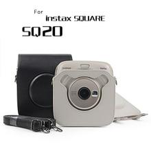 Новинка 2019 года instant камера дождевик Сумка для Fuji Fujifilm Instax квадратный 20 SQ20 протектор для женщин сумки рюкзак небольшой мини Чехол