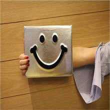 New model tablet case for Apple ipad air air 2 common character Smiling face pattern leather cover brand quality