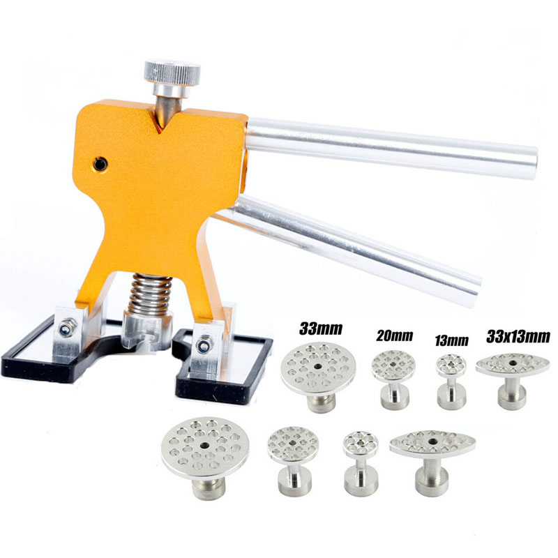 SWHGYWHZ Dent Lifter Glue Puller PDR Tools Paintless Dent Repair Hail Removal Dent Lifter Puller Tabs Kits