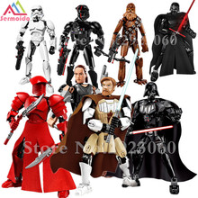 KSZ Star Wars Rogue One Toys Jango Phasma Jyn Erso K-2SO Darth Vader General Grievous Figure Toy Building Blocks TOYS B216 цена