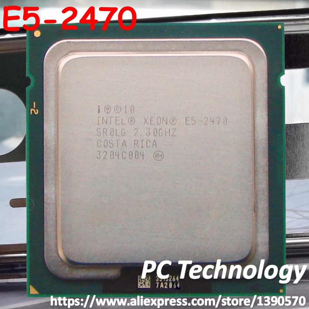 E5 2470 Original Intel Xeon E5-2470 2.3GHz 8-Core 20MB SmartCache FCLGA1356 ship out within 1 day free shipping