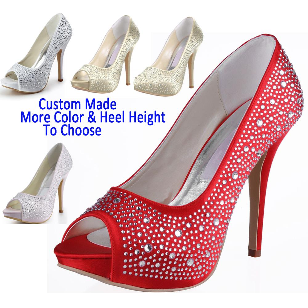Platform Wedding Shoes Bride