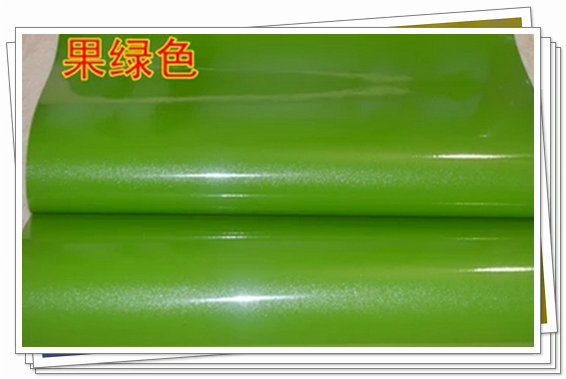 Pearlizing thickening for for apple green paint wallpaper
