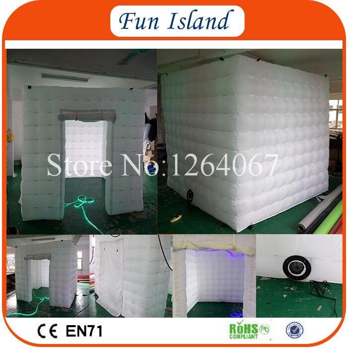 Livraison gratuite cabine photo gonflable 4x4 m/Studio Photo gonflable