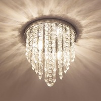 LED American style Crystal Pendant Light For Living Room Home Dining Room Hotel Creative Retro DHL FREE