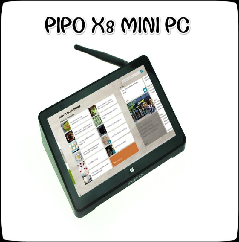 Original PIPO X8 Windows 10 Android 4 4 Dual Boot Intel Z3736F Quad Core Mini PC