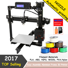 Easy Assemble DIY 3D Printer Kit Auto Leveling Anet A2 3D Printer Aluminum 2004LCD Printing Size 220*220*220mm/220*270*220mm